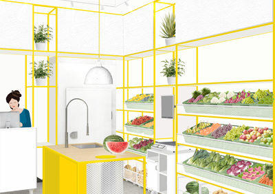 ZOLLE juice bar and fruit and vegetable shop