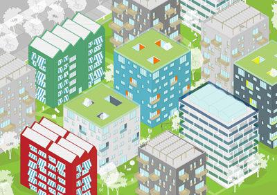 OPEN BLOCK new housing settlement