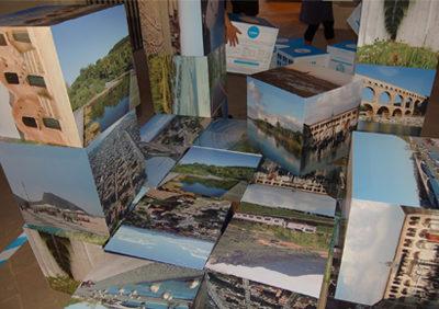 PIC PUZZLE interactive installation for Attraversamenti 09