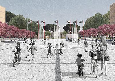 VILLAGGIO OLIMPICO MMXIX urban park and public space